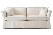 High Back Sandy Sofa - Slipcover