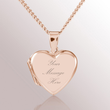 heart gold engraved m locket shane necklaces in co rose p lockets