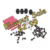 ZMR250 Parts Kit (Standoffs, Screws, Nuts, Damping Balls)