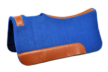western royal blue wool felt 20MM saddle pad
