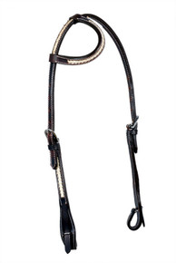 western leather one ear headstall
