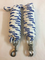 nylon braided & knotted 1.0 inch wide roping reins