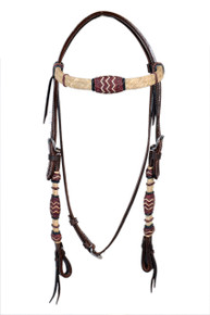 western rawhide braided headstall