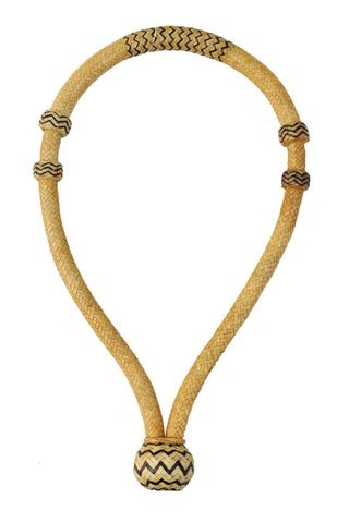 "rawhide braided weaved 5/8"" bosal"