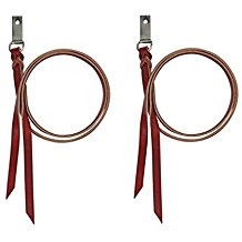 Western Leather String with Stainless Dee for Saddle By Aledo Saddlery