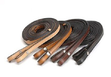 "Western Double Leather 5/8"" x 80"" Long Reins By Aledo Saddlery"