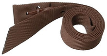 "Western Brown Nylon 1.5"" Wide Reinforced Nylon Latigo Holder By Aledo Saddlery"