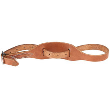 Western Natural Leather * Shaped Hobble Strap By Aledo Saddlery