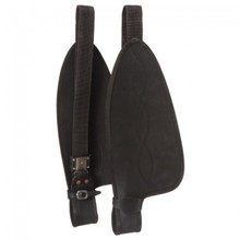 Western Black Synthetic Replacement Fender for Synthetic Saddle  By Aledo Saddlery