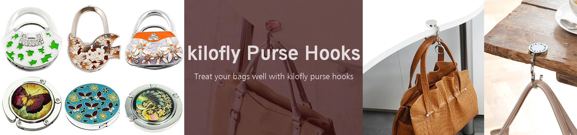 kilofly womens purse hooks