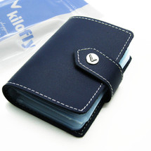 kilofly Credit Card Holder - Book Style with 26 Card Pockets - Colton, with kilofly Mini Gift-for-You Card