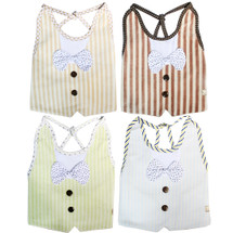 KF Baby Boys Girls Large Super Absorbent Dress Up Bowtie Bibs, Value Pack of 4