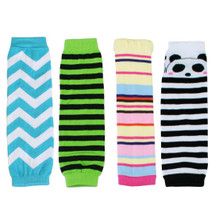 KF Baby Toddler Cozy Soft Leg Warmers, Set of 4 Pairs