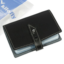 kilofly Credit Business Card Holder Name Card Case - Leather