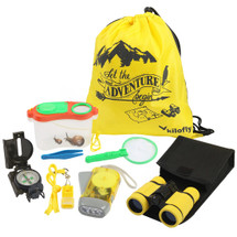 kilofly 8-in-1 Kids Nature Explorer Kit Fun Backyard Bug Catching Adventure Pack