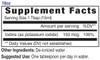 18oz Iodine mineral supplement facts - Eidon Ionic Minerals