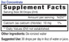 2oz concentrate Calcium mineral supplement facts - Eidon Minerals