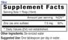 18oz Zinc mineral supplement facts - Eidon Ionic Minerals, trace minerals