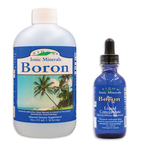 Boron Liquid Mineral supplement - Eidon Ionic Minerals