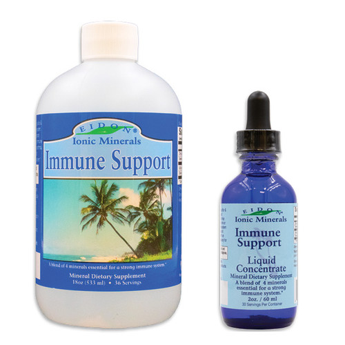 Immune Support Ionic Mineral Blend Supplement. Bioavailable, all natural, 100% Vegan.