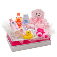 Girl Hugs - Basket of Goodies