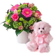 Princess - Bouquet and Bear