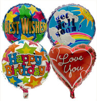 Helium Foil Balloon (one)