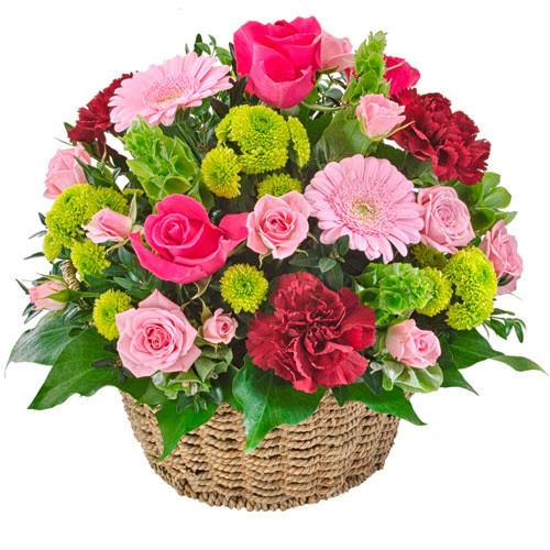 Flourish - Basket of flowers