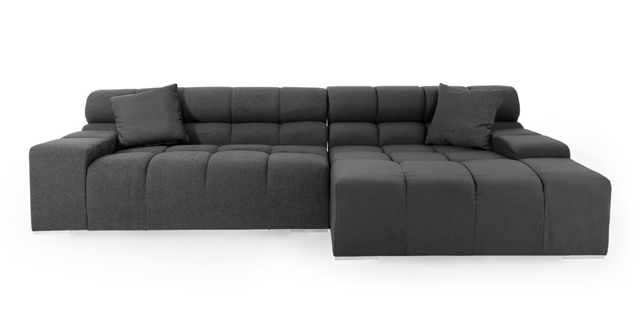 Kardiel Cubix Modern Modular Sofa Sectional Right