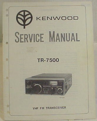 kenwood tr 7500 service manual copy nationwide radio eq sales llc rh nationwide radio amp amp amp eq sales llc m Kenwood Transceiver Kenwood Ham Radio