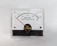 RL Drake L4-B  Amplifier Grid MA & Plate Volts Meter