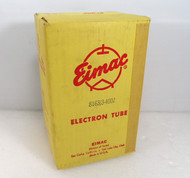 Eimac 3-400Z Power Amplifier Triode Tube with Plate Cap NEW in Original Box