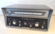 Gonset G-63 Amateur Band Receiver with New Capacitors,  Aligned and Tested