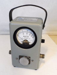 Bird 43 Watt meter in Excellent Condition (Leather Handle) S/N 164420