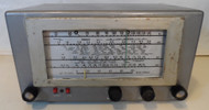 Hallicrafters S-38D Communications Receiver in good Condition for parts or restoration