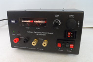 MFJ-4275 MV  13.8 Volt DC, 75 Amp High Quality Power supply with Meters in Excellent Condition