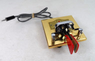 Vibroplex Gold Square Racer Iambic Paddle  (non Wood Base) New Condition