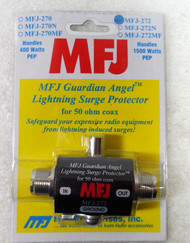 MFJ-272 LIGHTNING PROTECTOR, SO-239/SO-239, 1500W PEP NEW!