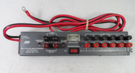 MFJ-1118  HIGH CURRENT DC MULTI-OUTLET STRIP WITH CURRENT METER