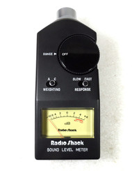 Radio Shack Digital Sound Signal Level Meter, 33-2055 in Original Case