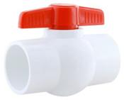 """1-1/2"""" PVC BAL VALVE-SXS (PV 400-015S)"""