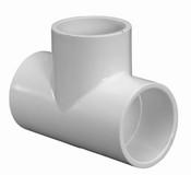 """1-1/4"""" PVC Tee Slip Sch 40"""