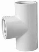"1/2"" PVC Tee FPT Sch 40 (PF 405-005)"