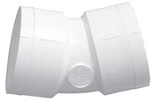 """1/2"""" PVC 22-1/2° Ell Slip Sch 40 (PF 416-005)"""