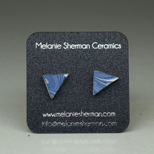 Melanie Sherman - Triangle Ear Studs 1
