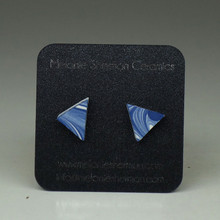 Melanie Sherman - Triangle Ear Studs 2