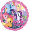 Happy Birthday My Little Pony 18 Inch Foil Balloon