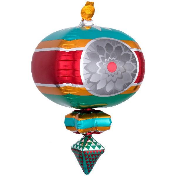Xmas Retro Ornament Supershape