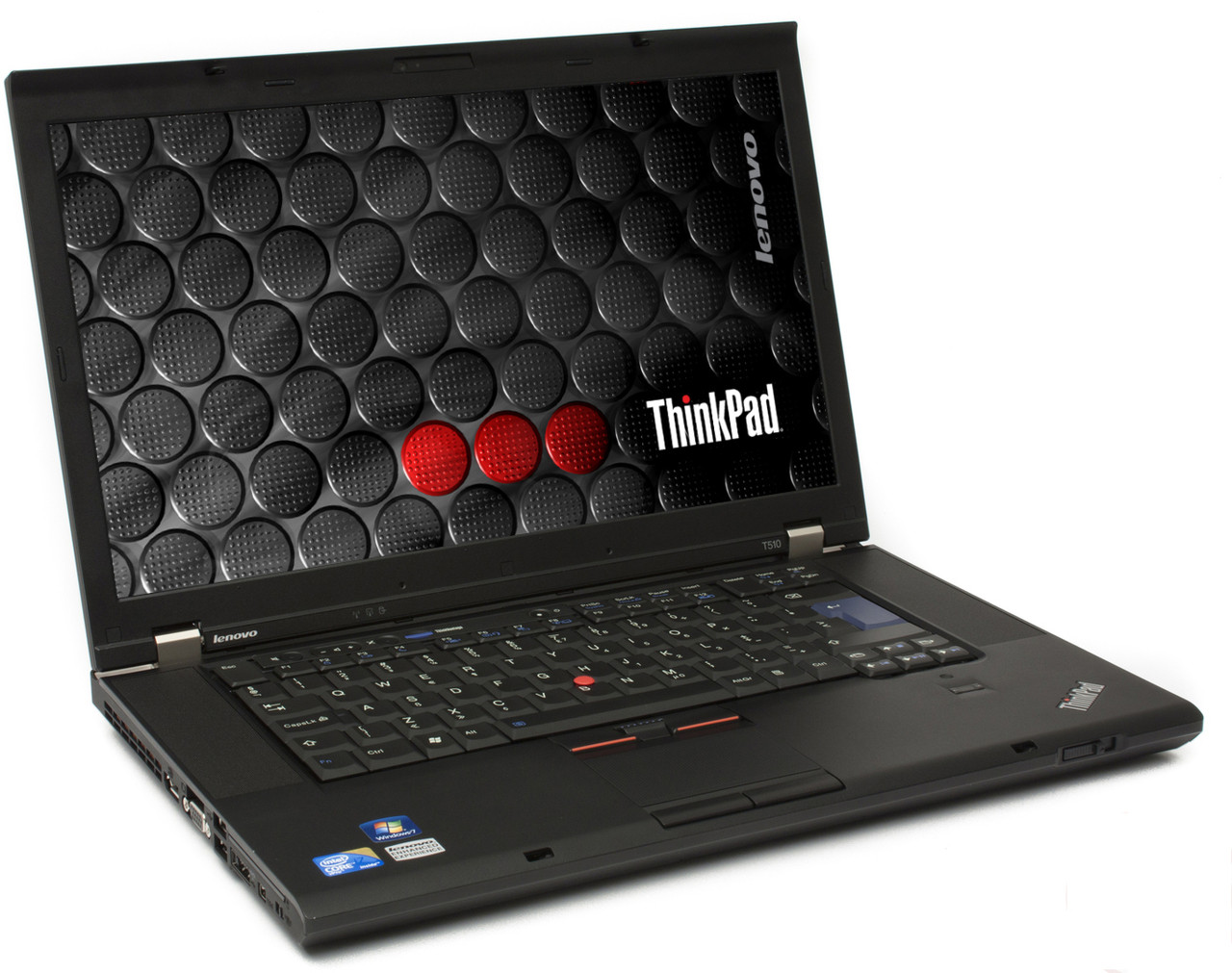 Lenovo Thinkpad T510 Laptop - right side