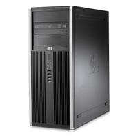 Refurbished HP 8100 computer - front view